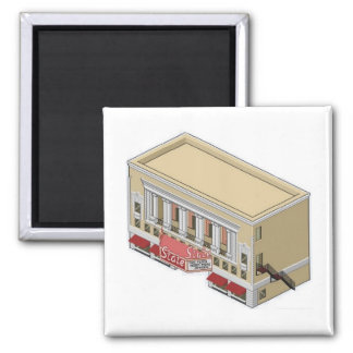 South Bend State Theater Fridge Magnet