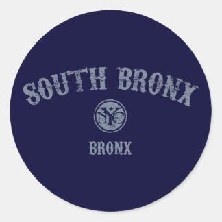 South Bronx Classic Round Sticker