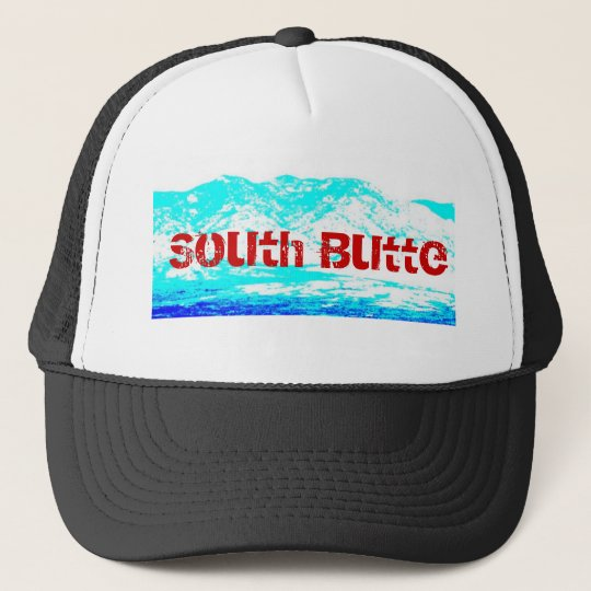 South Butte Black Mountain Trucker hat