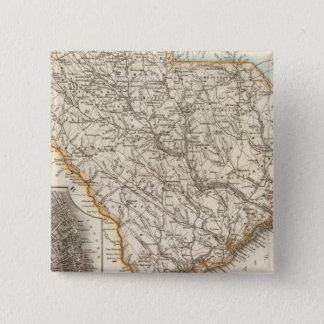 South Carolina 2 15 Cm Square Badge