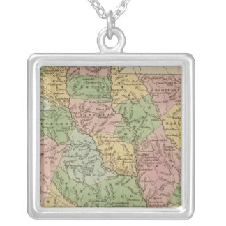 South Carolina 2 Silver Plated Necklace