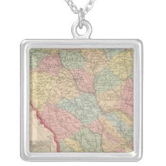 South Carolina 3 Silver Plated Necklace