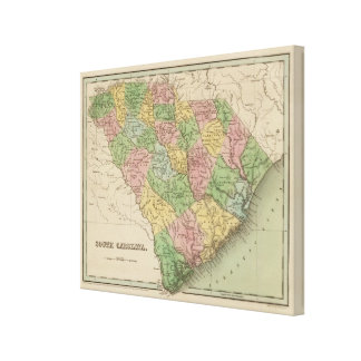 South Carolina 5 Canvas Print