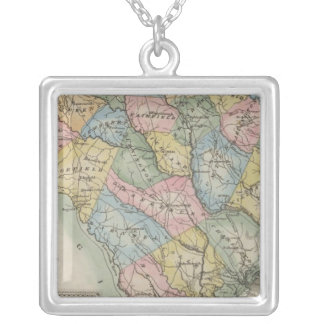 South Carolina 5 Silver Plated Necklace