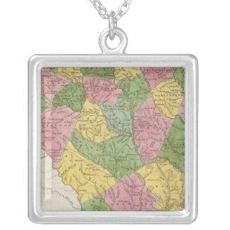 South Carolina 6 Silver Plated Necklace