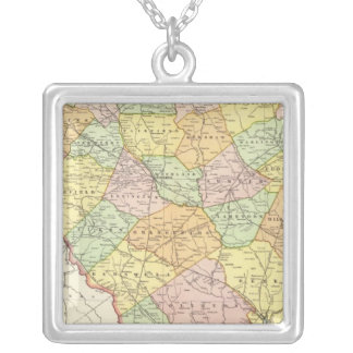 South Carolina 7 Silver Plated Necklace
