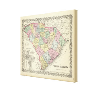 South Carolina 9 Canvas Print