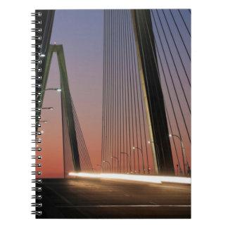 South Carolina, Arthur Ravenel Jr. Bridge Spiral Notebook