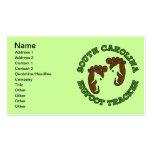 South Carolina Bigfoot Tracker Business Cards