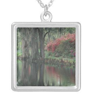 South Carolina, Charleston Silver Plated Necklace