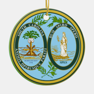 South Carolina* Christmas Ornament