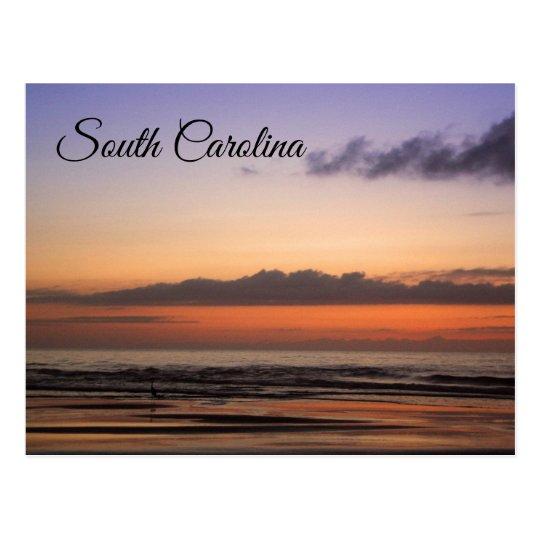 South Carolina Coastal Sunrise Postcard