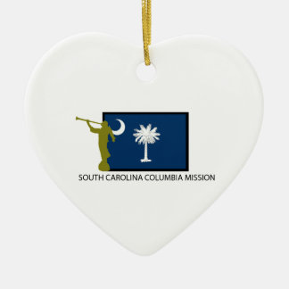 SOUTH CAROLINA COLUMBIA MISSION LDS CTR CHRISTMAS ORNAMENT