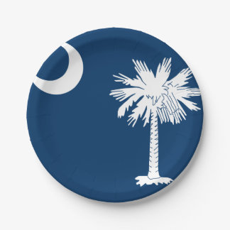South Carolina Custom Paper Plates 7''