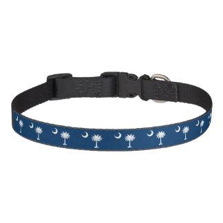 South Carolina Flag Pet Collar