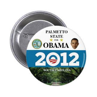 SOUTH CAROLINA FOR OBAMA 2012 political pinback bu 6 Cm Round Badge