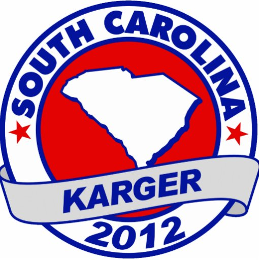 South Carolina Fred Karger Cut Outs