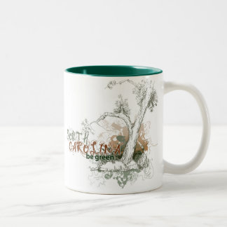 South Carolina Green Tree Mug