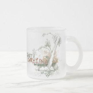 South Carolina Green Tree Mug Glass