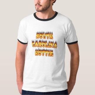 South Carolina hottie fire  and flames T-shirts