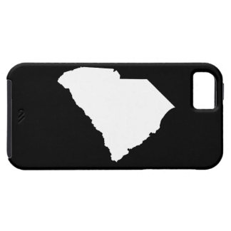 South Carolina in White and Black iPhone 5 Covers