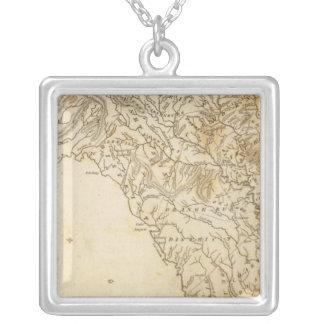South Carolina Map by Arrowsmith Silver Plated Necklace