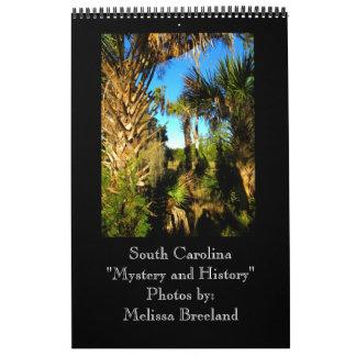 South Carolina ~ Mystery and History Wall Calendar