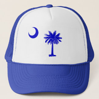 South Carolina Palmetto and Crescent Trucker Hat