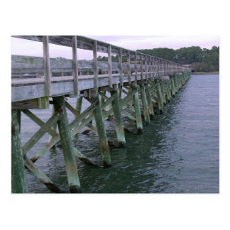 South Carolina Pier Postcard