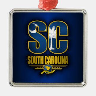 South Carolina (SC) Christmas Ornament