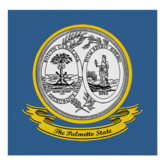South Carolina Seal Poster