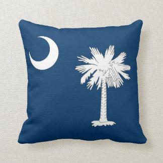 South Carolina State Flag American MoJo Pillow