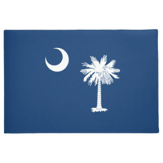 South Carolina State Flag Design Doormat