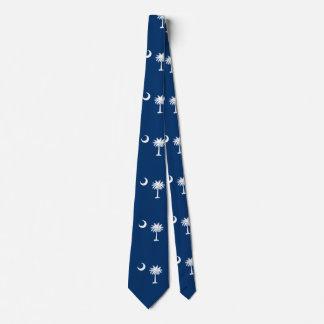 South Carolina State Flag Design Tie