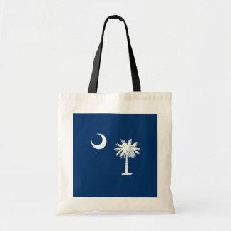 South Carolina State Flag Design Budget Tote Bag