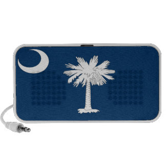 South Carolina State Flag Travelling Speakers