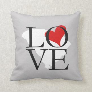 South Carolina State Love Pillow