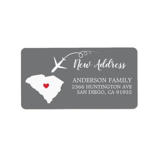 South Carolina State | Moving Return Address Label