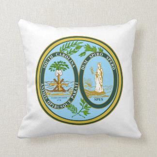 South Carolina state seal america republic symbol Throw Pillow