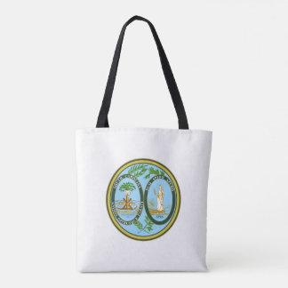 South Carolina state seal america republic symbol Tote Bag