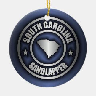 """South Carolina Steel"" Decorative Ornaments (Blue)"
