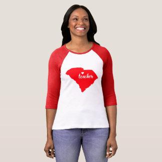 South Carolina Teacher Tshirt (Red)