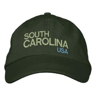 South Carolina* USA Adjustable Hat Embroidered Hat