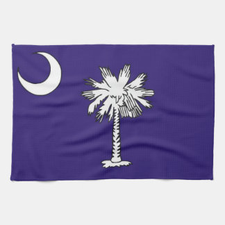 south carolina usa state flag towel