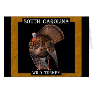South Carolina Wild Turkey (AL, MA, OK, SC) Card