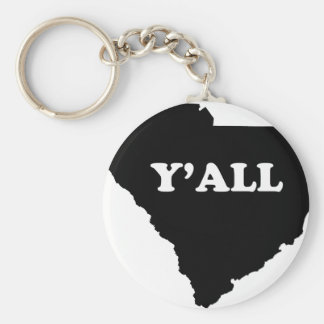South Carolina Yall Key Ring