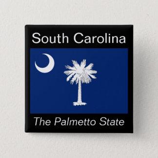 South Carolinian Flag Button