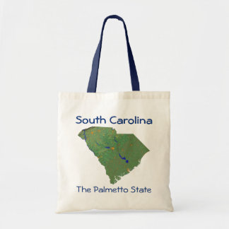 South Carolinian Map Bag