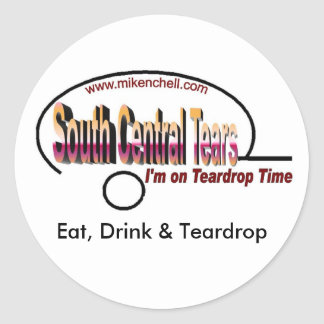 South Central Tears Sticker