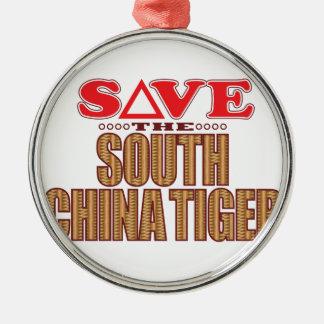 South China Tiger Save Christmas Ornament